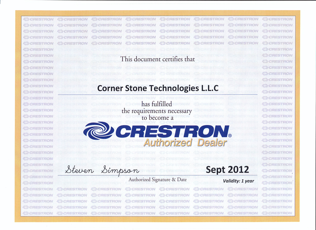 Corner Stone Technologies